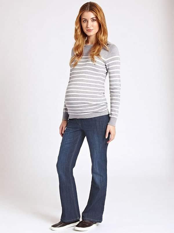 Maternity Jeans Jojo Maman Bebe Mid Wash