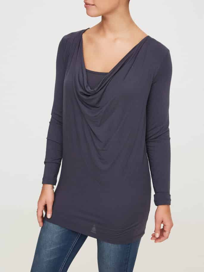 Maternity Nursing Top Mamalicious Nell Grey