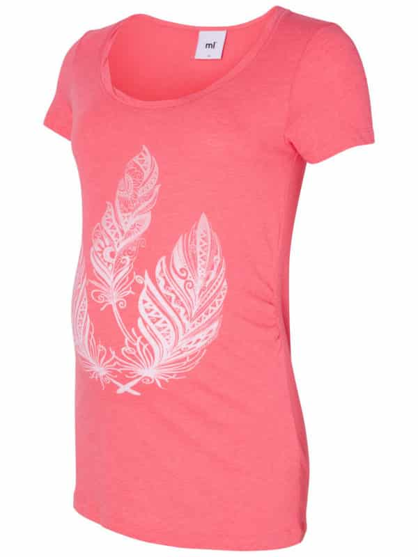 Maternity top Jetta Mamalicious Coral
