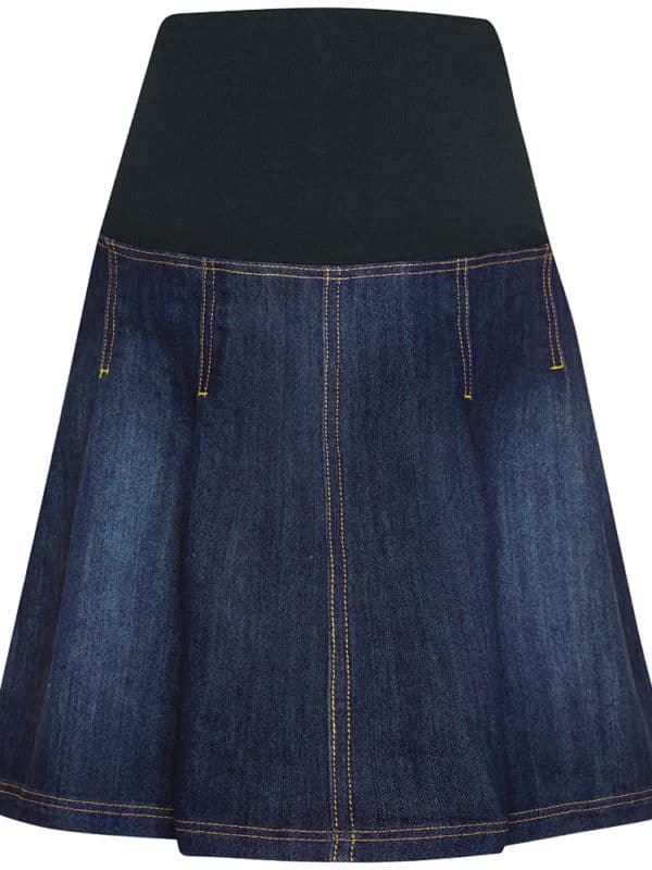 Maternity Skirt Denim Jojo Maman Bebe