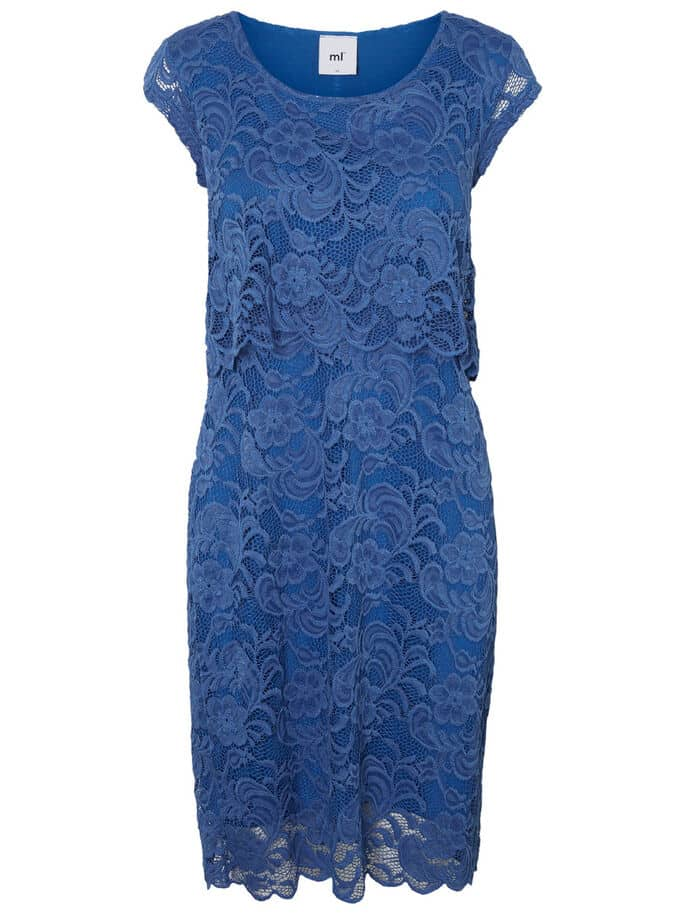 Maternity Nursing Dress Mamalicious Mivane Lace