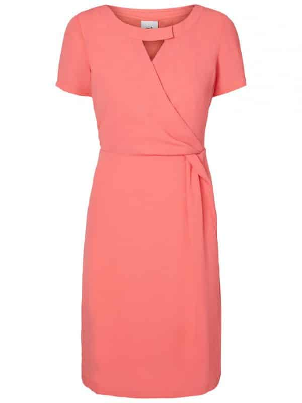 Maternity Nursing Dress Coral Mamalicious Analee