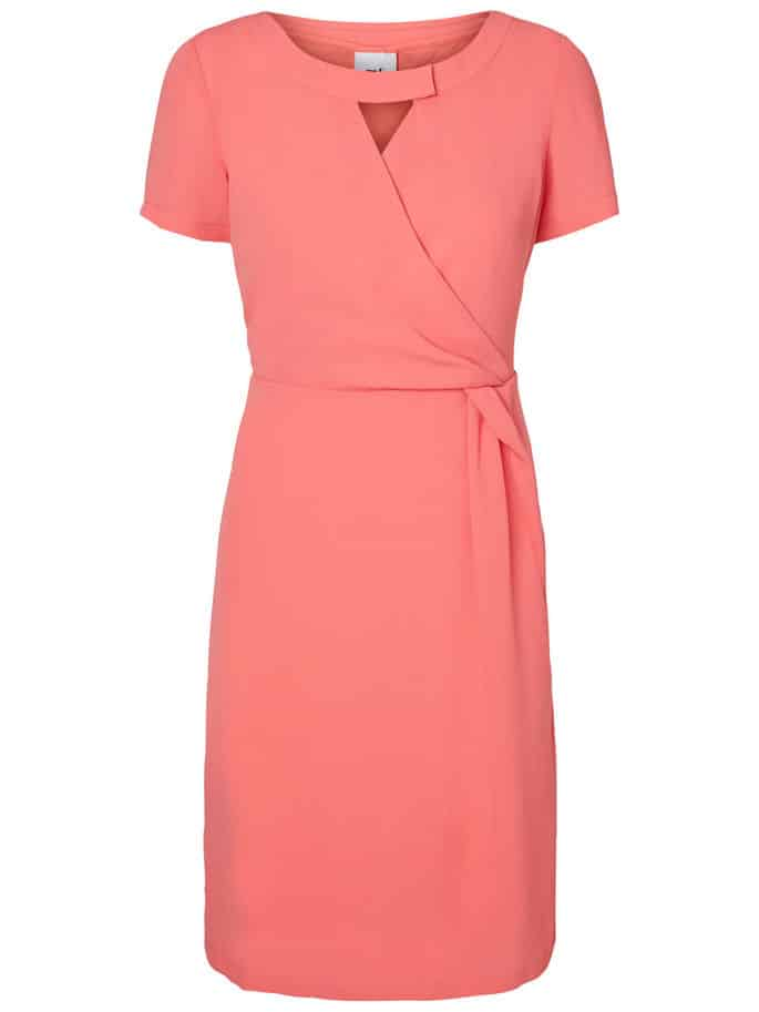 Maternity Nursing Dress Coral Mamalicious Analee