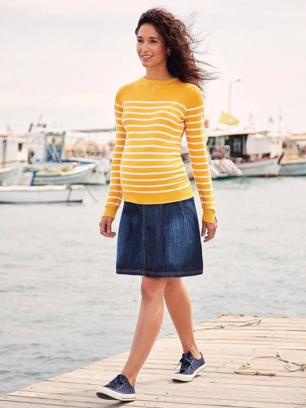 Maternity Skirt Denim Jojo Maman Bebe