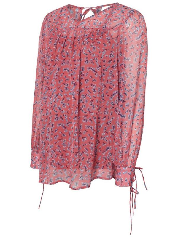 Maternity top blouse Mamalicious Sahara