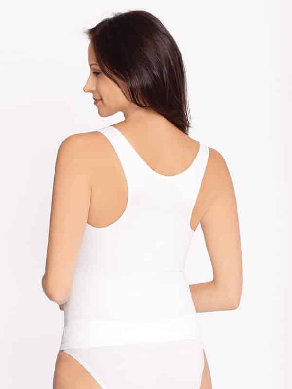 Maternity Support Vest White Jojo Maman Bebe