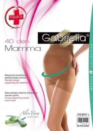 Maternity Tights Beige Gabriella 40 den