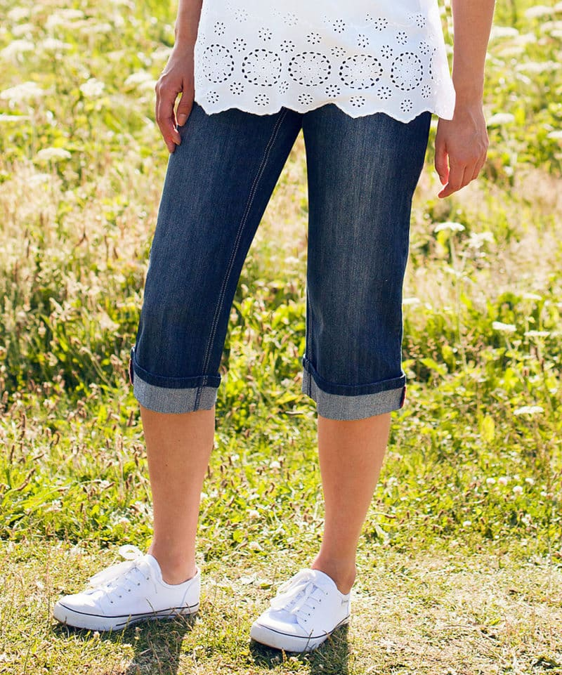 Maternity DenimCropped Jeans Jojo Maman Bebe