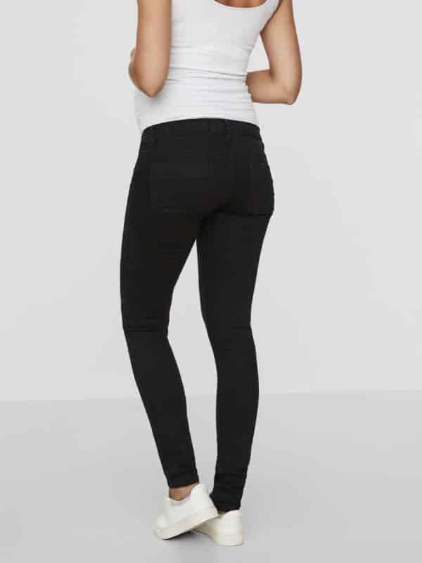 Black Maternity Jeans Mamalicious Lola