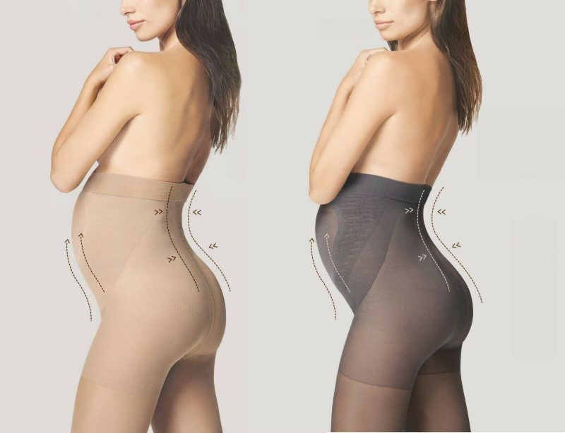 Maternity Tights Black 20 Den Fiore Mama