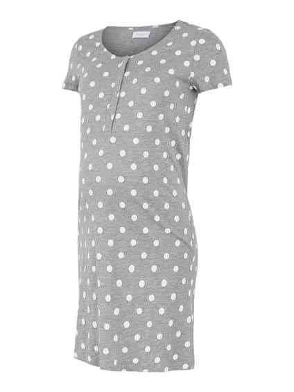 Maternity Nightdress Mamalicious Chill Lia