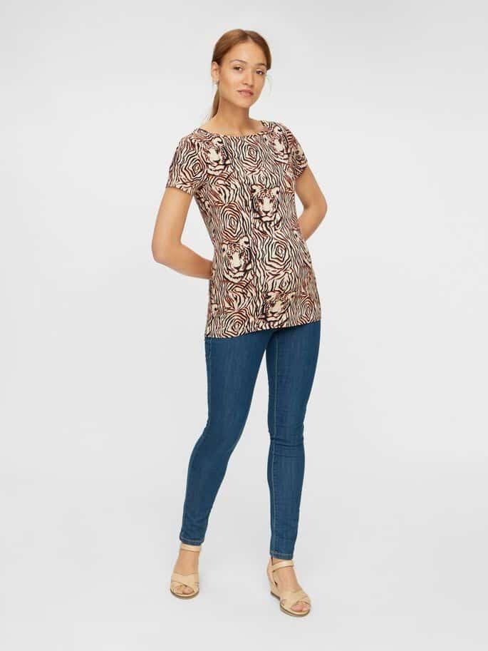 Maternity Jeans Mamalicious Slim Fit Julia
