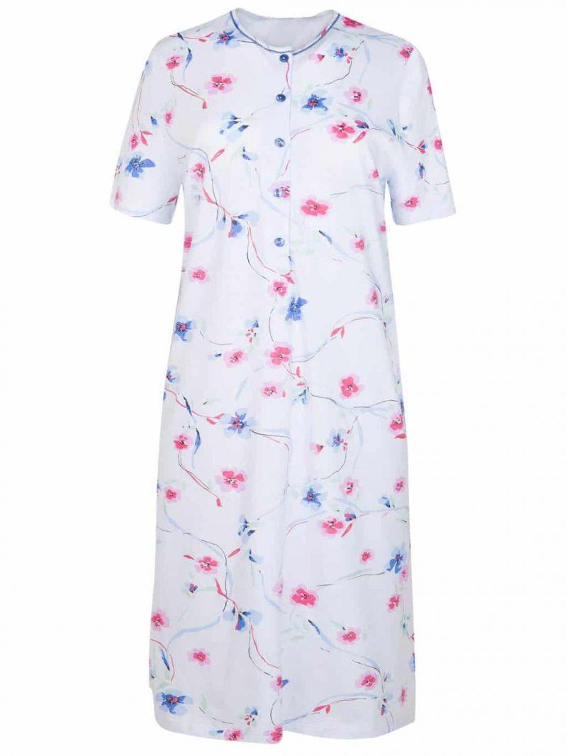 Cybele Blue Floral Nursing Nightdress