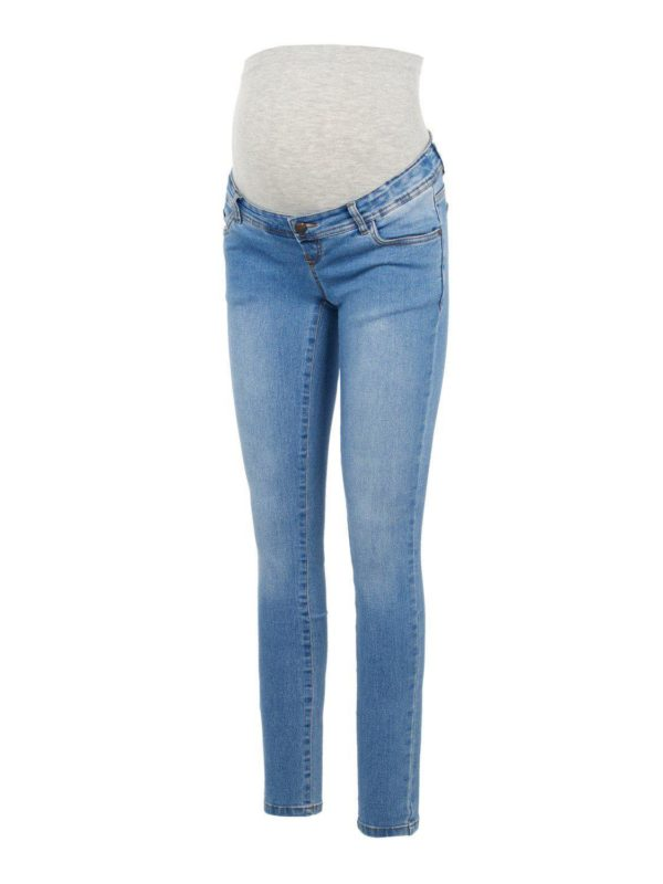 Mamlicious Maternity Jeans Ono Blue