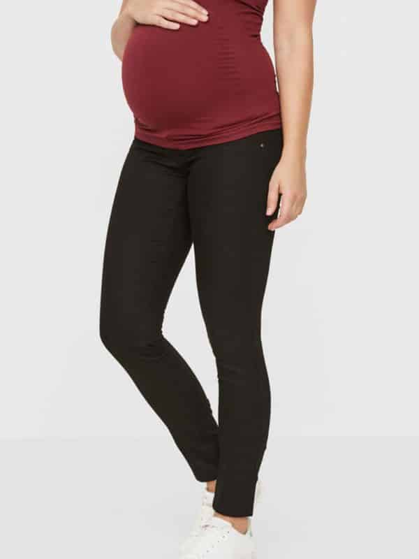 Mamalicious Black Slim fit Soft Jeans